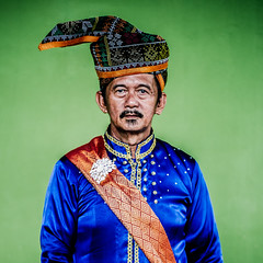 The Portrait of Bajau Samah (Rade Knoxville) Tags: canon colorful faces 85mm po sabah etnic samah bajau sabahan