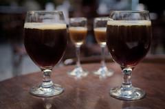 Untitled (yuzefe) Tags: beer zeiss 35mm fuji 14 lviv contax fujifilm cz 35 manualfocus cy distagon belgiumbeer 1435 cymount