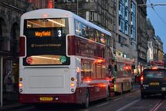 407 (Callum Colville's Lothian Buses) Tags: street bus buses edinburgh b5 princes lothian madder lothianbuses edinburghbus madderandwhite madderwhite b5tl busesedinburgh lothianedinburghedinburgh