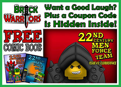 Holiday Gift Guide From A-Z: W is for Want a Good Laugh? (MandaBW) Tags: christmas holiday men century book team comic force lego free gift presents hero guide villain 22nd minifigure brickwarriors tcmft