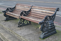 Camel styled Egyptian bench. London (Loco Steve) Tags: london bench chair seat camel egyptian victoriaembankment