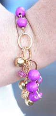 Glimpse of Malibu Purple Bracelet K2 P9613A-2