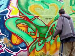 Graffiti à Valparaiso