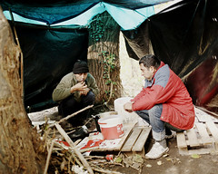 Cold, Uncomfortable and Hungry in Calais (UNHCR) Tags: camp france cold exterior help aid transit protection assistance calais unhcr migrants pakistanese unrefugeeagency unitednationsrefugeeagency unitednationshighcommissionerforrefugees unhighcommissionerforrefugees
