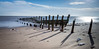 Groynes - Spurn Head (Draws_With_Light) Tags: winter sea beach water season landscape structures places scene coastline filters groynes spurnhead lee09ndhardgrad leebigstopper