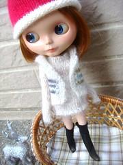 Blythe cardigan outfit set