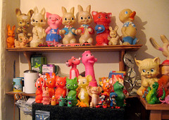 Kitchen Critters (The Moog Image Dump) Tags: cute vintage toys star rosebud kawaii lone squeaky combex