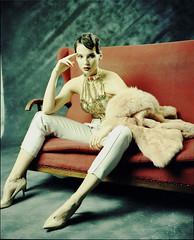 Dragana (Braca Nadezdic) Tags: portrait color fashion analog studio roll 6x7 rollfilm mamiya7