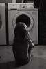 * (Dalla*) Tags: boy portrait white black lensbaby kid child watching washingmachine documenting observing washingroom wwwdallais edge80