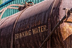 Good for drinking? (Clive1945) Tags: railroad wagon railway didcot tanker d7100