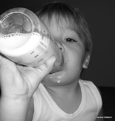 thirsty (claudiacattarini) Tags: milk kid latte thirsty
