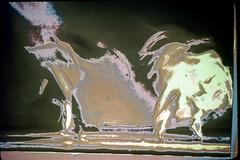 3e-667 (ndpa / s. lundeen, archivist) Tags: nick dewolf nickdewolf 3e reel3e color photographbynickdewolf july 1980 1980s film 35mm aspen colorado summer internegative slide slideshow windstarfoundation video screencap movement motion dance dancers blurry distortion blur