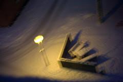 dream (Ina Apla) Tags: light snow motion night blurr