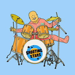 It's a Baby! (IamRobertShaw) Tags: show baby television illustration stars drums george tv comedy zeppelin led shooting quiz dawes
