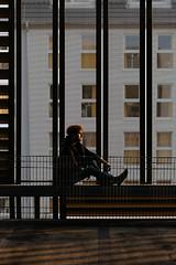 Stripes (David Pinzer) Tags: portrait people man dark shadowplay lightplay