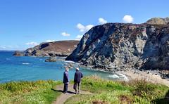 The Cornish coast near St Agnes (Baz Richardson) Tags: sea coast cornwall cliffs stagnes northcornwall footpaths trevaunancecove northcoastofcornwall