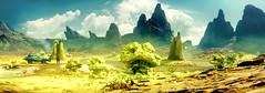 Reek Hills (Sspektr) Tags: green pc screenshot videogame madmax wasteland postapocalypse madmaxgame