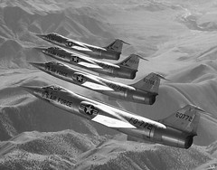 1958 ... Starfighter chorus-line! (x-ray delta one) Tags: propaganda aircraft sac nuclear atomic populuxe aerospace atomicbomb airtoair strategicaircommand worldwar3 hydrogenbomb kiloton departmentenergy nucleardeterent atomicannihilation atomicairplane jamesvaughanphoto