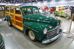 1946 Ford Woody (bballchico) Tags: ford woody stationwagon 1946 portlandroadstershow larrylemmons kimlemmons