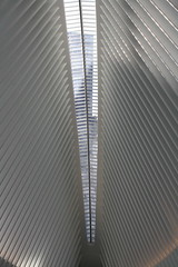 PATH WTC (ktmqi) Tags: newyorkcity architecture downtown path worldtradecenter trainstation commuting masstransit wallstreet santiagocalatrava retrofuture retrofutere