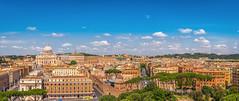 Vista panoramica di Roma (giualia) Tags: nikonflickraward