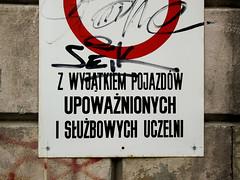 Wrocaw (isoglosse) Tags: sign poland polska schild polen sansserif wrocaw breslau znak ogonek kropka kreska