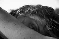 C.B. (Eye). (Anacronimo.) Tags: woman look donna eyes sguardo glance occhio