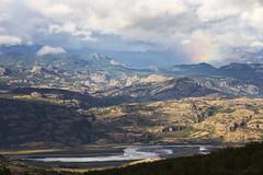 Arcoiris en camino a Puerto Rio Tranquilo (Daniel Gjakoni) Tags: canon 6d 70 300mm l is usm regin de aysn patagonia chile arcoiris rainbow regenbogen paisaje landscape landschaft