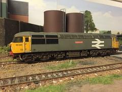 56040 ao CF Oystermouth (daveymills37886) Tags: class 56 hornby oystermouth 4mm railfreight 56040