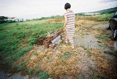 okinawa201510 (chant0m0) Tags: film japan analog lomo kodak okinawa gold200 lcwide