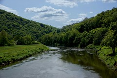 _Wye Valley Down Stream_DSC07225 (Ian Gearing) Tags: bridge wales river landscape valley monmouth wye