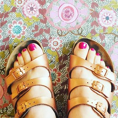 Ready for summer? Today #otb I am sharing how I transformed an old ugly pair of multicolored Birks into rose gold. It was easy! Link in profile. (momfluential) Tags: old summer rose gold for was am pair profile it an ugly link sharing ready how easy multicolored today transformed birks otb i