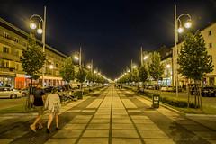 Czstochowa (nightmareck) Tags: summer night europa europe fuji streetphotography poland polska handheld fujifilm fujinon lato czstochowa pancakelens xe1 apsc mirrorless lskie xtrans fotografiauliczna fotografianocna xmount xf18mm xf18mmf20r bezlusterkowiec