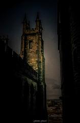 Lumire des Savoirs (Frdric Fossard) Tags: texture monument architecture lumire universit grain ombre sombre ruelle rue btiment clocher clart vieilleville cosse lueur dimbourg universitddimbourg
