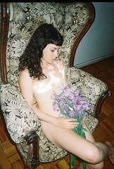 Essence (Hef Prentice) Tags: flowers light portrait film girl 35mm soft natural nymph rigobertadeltesouro hefprentice