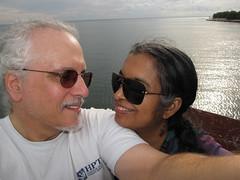 Toronto-15.13 (davidmagier) Tags: portrait toronto ontario canada david sunglasses closeup lakes can aruna