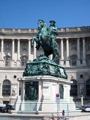 Prince Eugene of Savoy, Neue Burg (New Castle), Hofburg Palace, Vienna (Wiebke) Tags: vienna wien sterreich austria europe architecture architektur hofburg hofburgpalace statue equestrianstatue