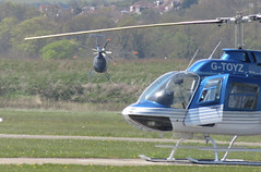 Helicopters, Shoreham, Sussex. (ManOfYorkshire) Tags: gcimj gtoyz helicopter helicopters shoreham airpost sirfield brighton city manouvres flying positioning landing landed ready air aircraft