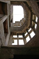 Looking up through the floors (Carol Spurway) Tags: new nt northamptonshire elizabethan nationaltrust newbuild lyveden bield oundle