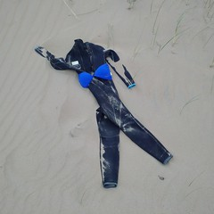All the rage in Kerry (gowersaint) Tags: europe ireland kerry inch dingle bikini wetsuit beach discarded strange strand sand dune fashion laugh joke fun funny puzzle find abandoned clever imagination interesting unusual entertaining missing people