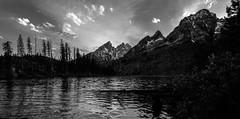 Tetons last Light (wildphototakermaker) Tags: park lake mountains evening national wyoming peaks teton