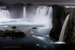 Godafoss II Iceland (Joseba Grajales) Tags: longexposure water landscape waterfall iceland islandia agua nikon paisaje cascada godafoss largaexposicin nikond750