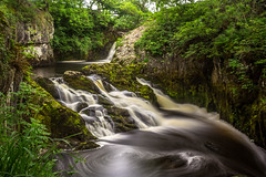 Pecca Twin Falls. (Ian Emerson (Looking forward to a Scotland trip)) Tags: water woodland river walking waterfall woods yorkshire scenic hoya carnforth ingleton ndx400