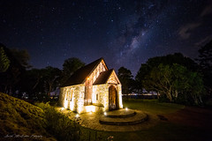 **Montville Chapel** (damian.mccudden1) Tags: landscapes nature fineart australia qld sunshinecoast milkyway astrophotography canon samyang chapel hinterland clear skies stars nightscapes longexposure
