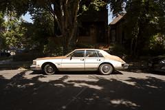 1984 Cadillac Seville (Curtis Gregory Perry) Tags: portland oregon 1984 cadillac seville sedan 1980 1981 1982 1983 1985 nikon d800e car automobile pdx doughnut spare tire gm