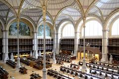 La salle Labrouste depuis la deuxime galerie, mai 2016,  Jude Talbot BnF (Library ABB 2013) Tags: paris france architecture nationallibraryoffrance bibliothquenationaledefrance 2016