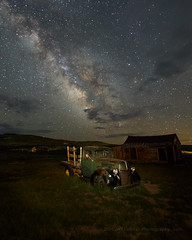 Milky Way Over 1940 Ford (Jeffrey Sullivan) Tags: california park wild copyright usa lightpainting west green ford abandoned jeff june night truck canon landscape photography eos town photo unitedstates state ghost 1940 historic mining commercial bodie sullivan bridgeport flatbed milkyway 6d easternsierra 2016 monocounty