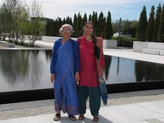 Toronto-15.15 (davidmagier) Tags: portrait toronto ontario canada can ponytail fountains bindi aruna saris shalwarkameez mataji