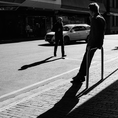 Everyday #Adelaide No. 321 (Autumn/Winter) (michelle-robinson.com) Tags: southaustralia people candid capturinglife documentary photoapps bw australia everyday editedonipadair everydayadelaide life everydayaustralia photography instagram dailylife cityliving blackandwhite streetphotography blackandwhitephotography streetphotographer flickrelite 4tografie adelaide citylife michellerobinson streetlife urban ipadair monochrome michmutters streetphoto street xt10 27mm shadows fujifilm