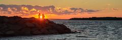 Sunset on the Ottawa River (rickmacewen) Tags: ottawa ontario canada sunset river